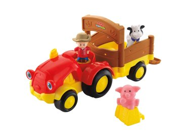 Gifts For Toddlers - Fisher-Price Little People Tow 'n Pull Tractor