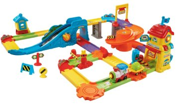 Gifts For Toddlers - VTech Go! Go! Smart Wheels Train Station Playset