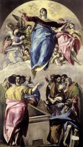 The Assumption of the Virgin, El Greco, 1577