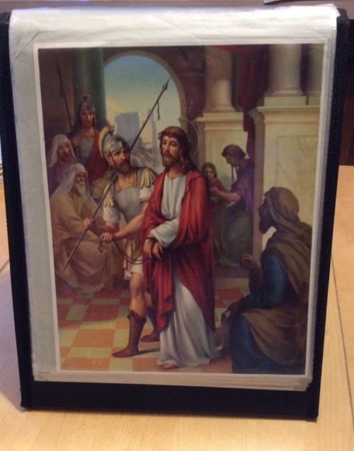 Stations of the Cross Easel Display