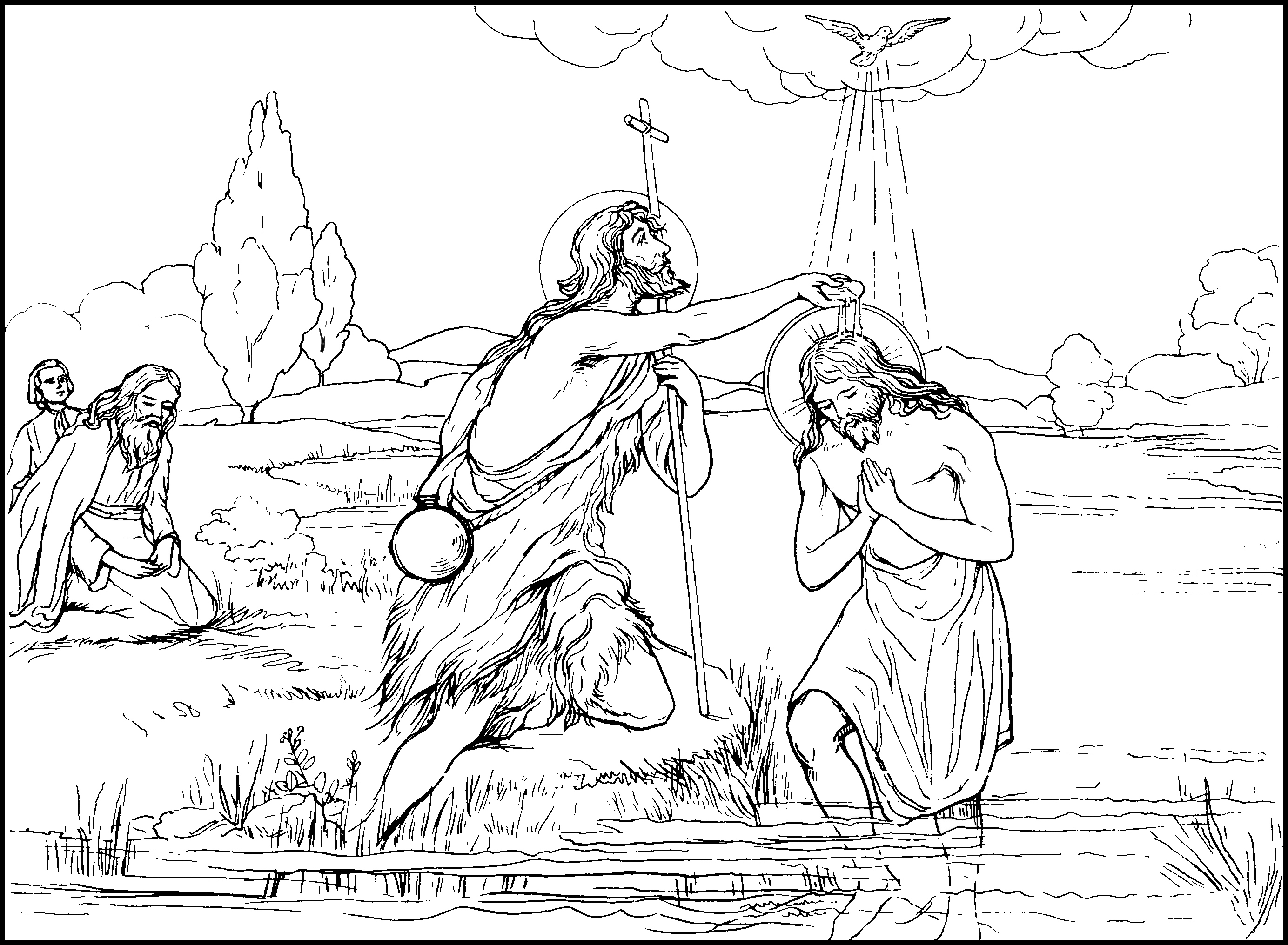 luminous1baptism - 4 Year Old Coloring Pages