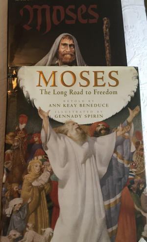 Moses by Gennady Spirin and Moses by Margaret Hodges