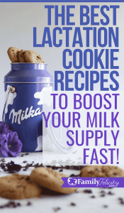 These lactation cookies promise not only to be super delicious but also boost your breastmilk supply! Also this list has tons of gluten-free, vegan, and even sugar free options. #pregnancy #breastfeeding #babies
