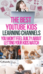 When you do allow screen time in your home, these educational and fun YouTube Kids Channels won't leave you feeling guilty! #kidsandparenting #parenting