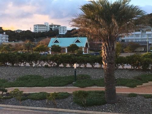 宮崎漁港・吉良サンライズパークの駐車スペースは広い