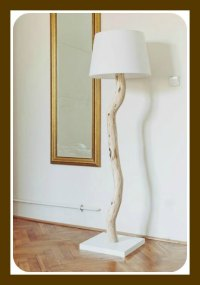 DIY Tree Branch Lamp