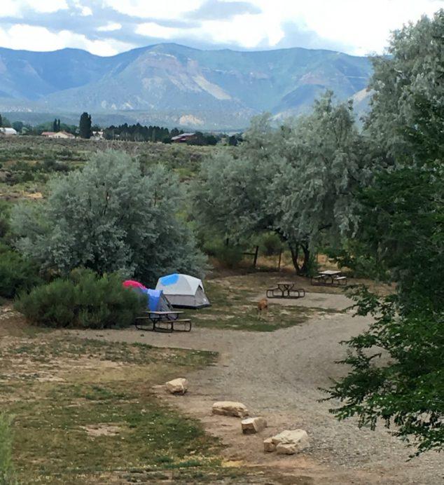 Camping Near Mesa Falls Idaho