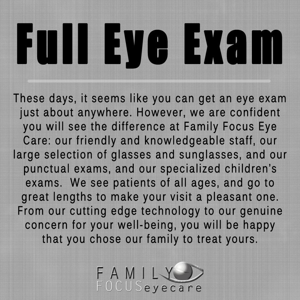 Family Focus Eye Care