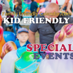 kid friendly special events
