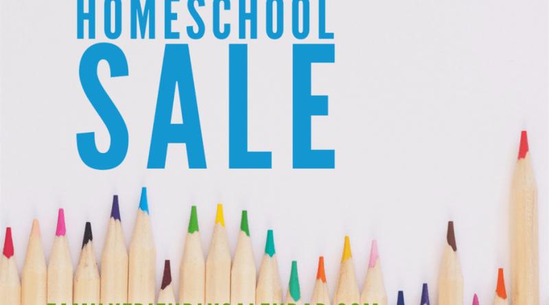 Homeschool Resources Sale