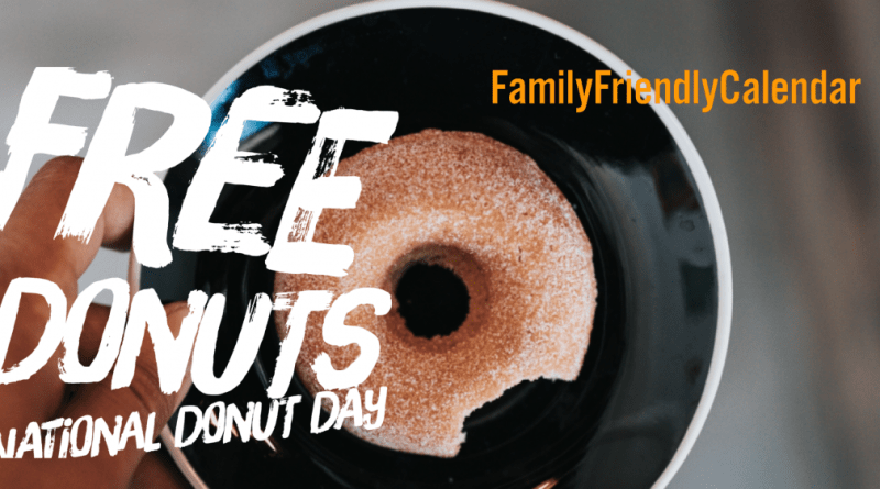 FREE DONUTS ON NATIONAL DONUT DAY IN PHOENIX