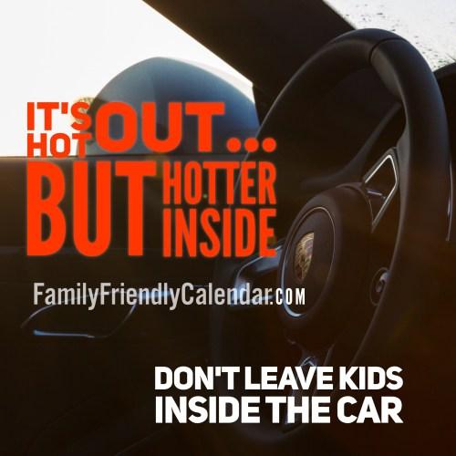 Family Precautions Hot Arizona Summers