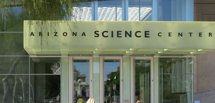 Free admission Science center