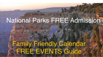 Free admission to the Grand Canyon