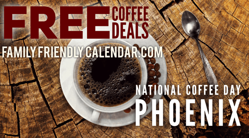 National Coffee Day Phoenix Deals