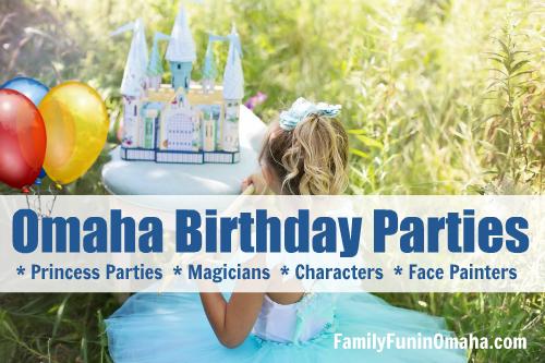 omaha area birthday party