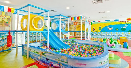 kids play area in hotel china