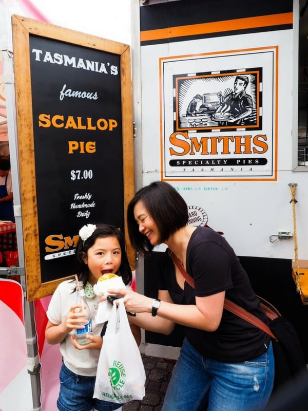Salamanca Market Tasmania scallop pie food truck_mini