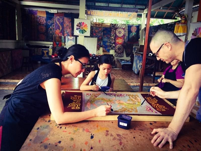 Batik Workshop Bali Family Cultural Bali