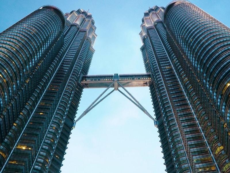 Petronas Towers in Kuala Lumpur by 9-Year-Old