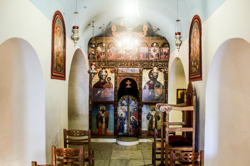 Spiritual Travel Experiences Church of Myrtidotissas Greece
