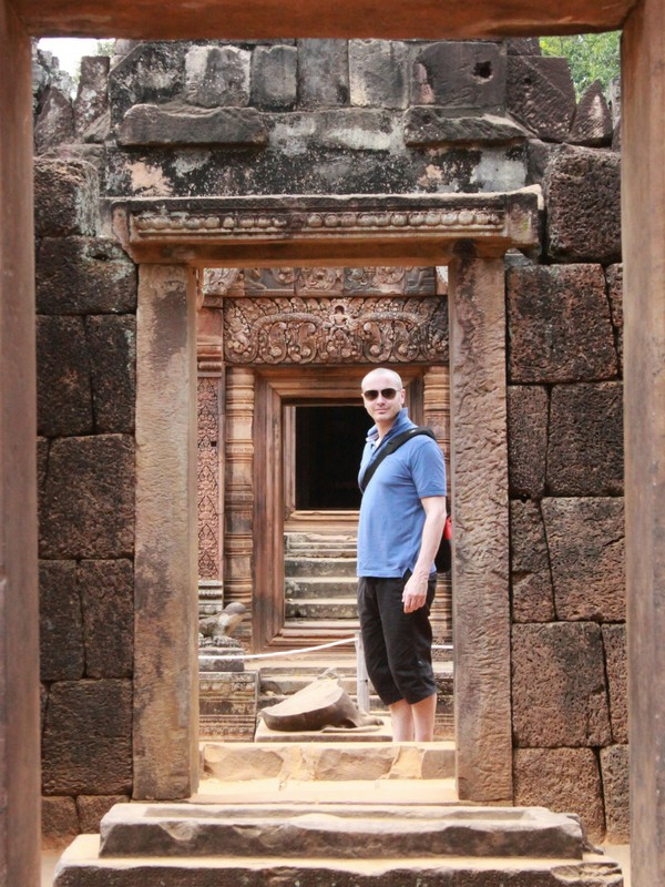 Adventures in Southeast Asia Banteay Srei Temple Angkor