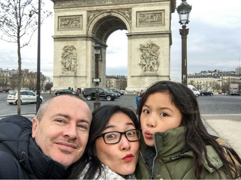 Best Family Selfie Paris