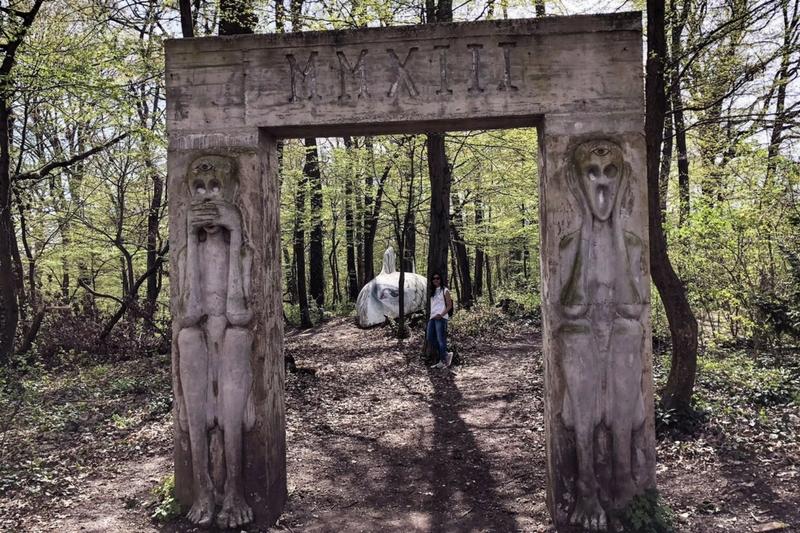 Tuskanac Forest Lonac art