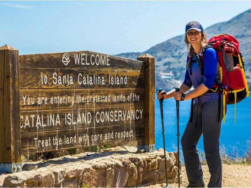 California Road Trip Itinerary Catalina Island Hiking