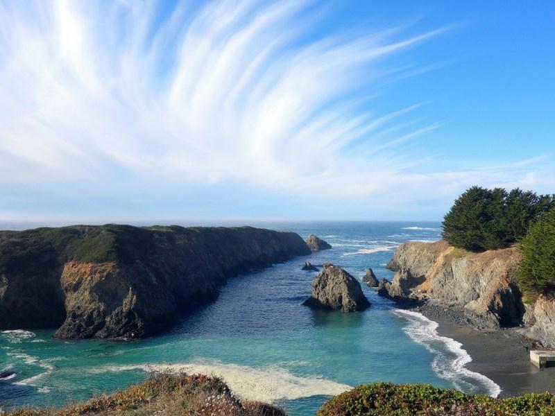 California Road Trip Itinerary Mendocino Coast