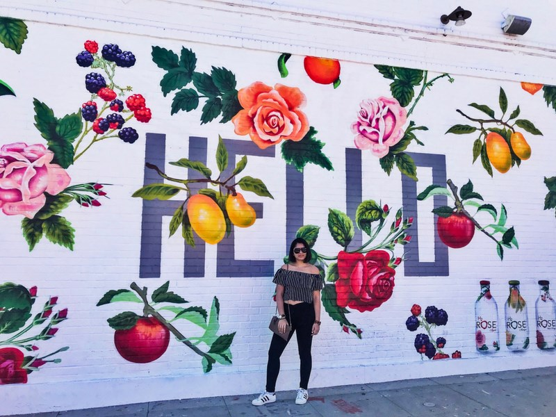 Instagrammable street art Los Angeles