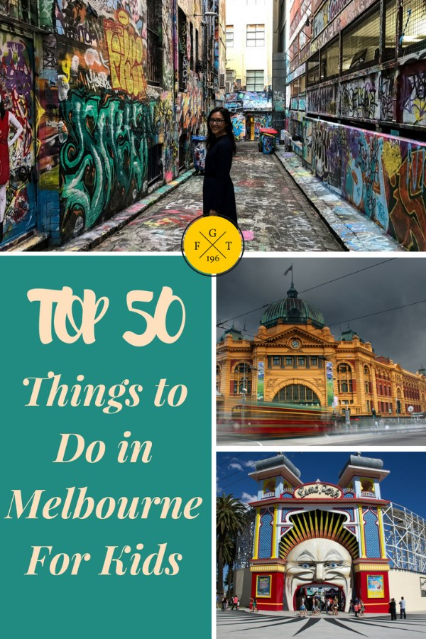 Top 50 Things To Do With Kids in Melbourne