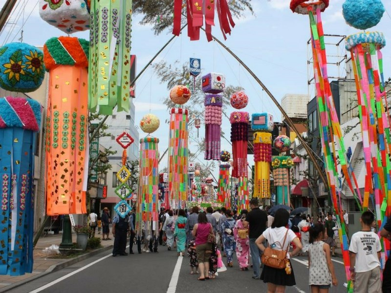 Popular Japanese Festivals For Families Tanabata Matsuri