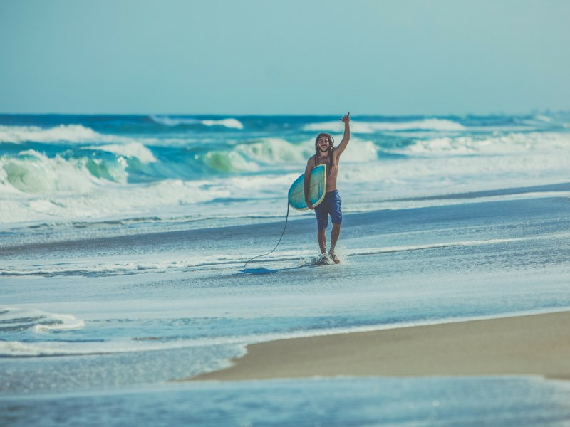 Things to do in Melbourne with kids - Surfing Beaches