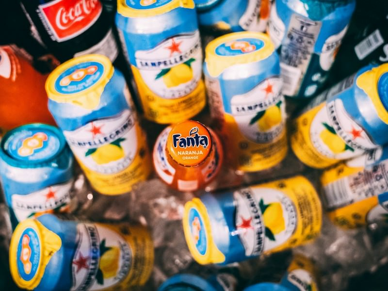 Fanta Bottle Cans