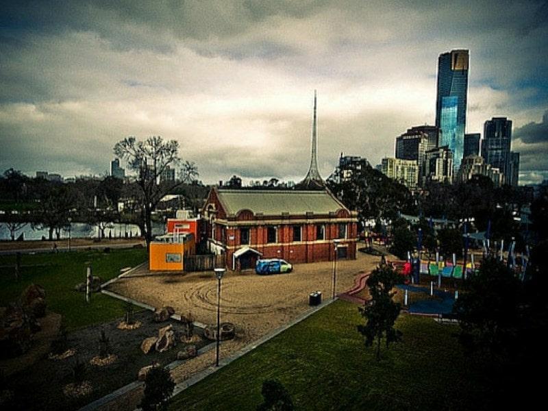 Melbourne Birrarung Marr Playground