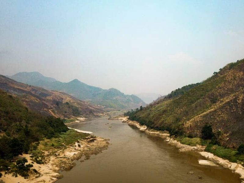 Mekong river cruise from Thailand to Laos