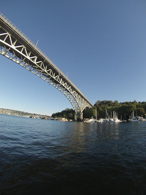 Seattle has lots of these lovely bridges