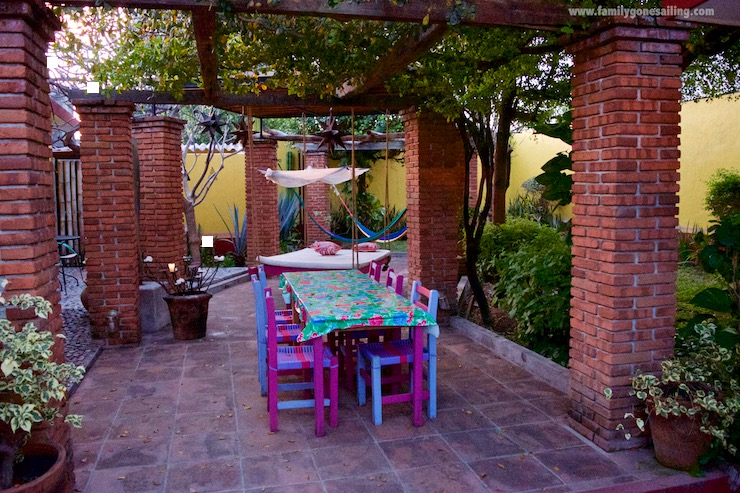 The quaint Casa Alvarada