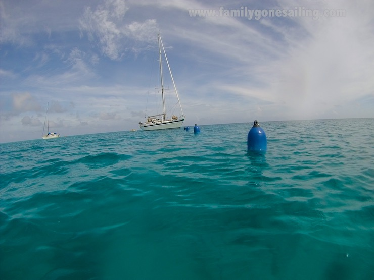 Familygonesailing -Anchoring around Coral-5