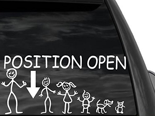 funny stick figure stripper support single moms rear window decal