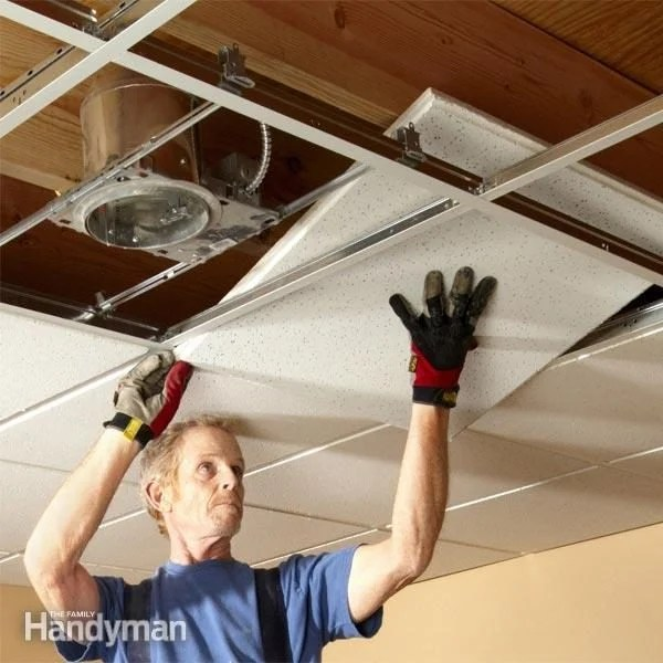 Drop Ceiling Tiles Installation Tips  The Family Handyman