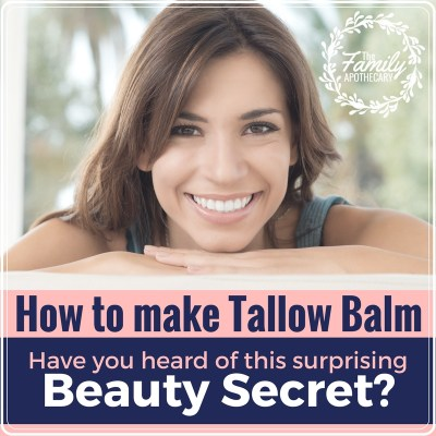 How to make tallow balm (easy recipe!)