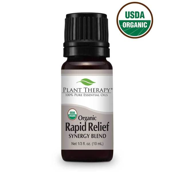 Discomfort is a common occurrence in everyday life, but with Plant Therapy's Organic Rapid Relief Synergy, you can help relieve the perception of pain. #relief #essentialoils #naturalremedies #planttherapy ... Visit TheFamilyApothecary.com for more great natural remedies to support your healthy lifestyle.