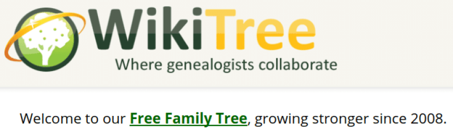 WikiTree - 6 Best Family Tree Software Programs