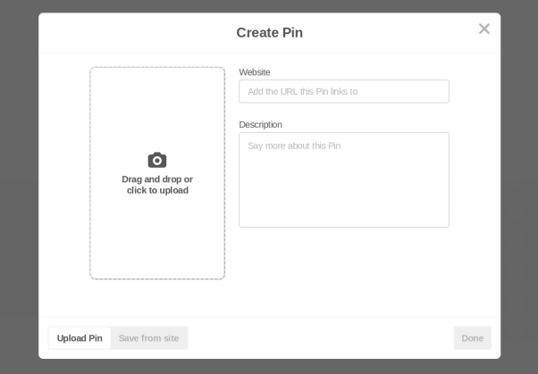 Pinterest for genealogy research, organization, and sharing, how to create a pin on Pinterest