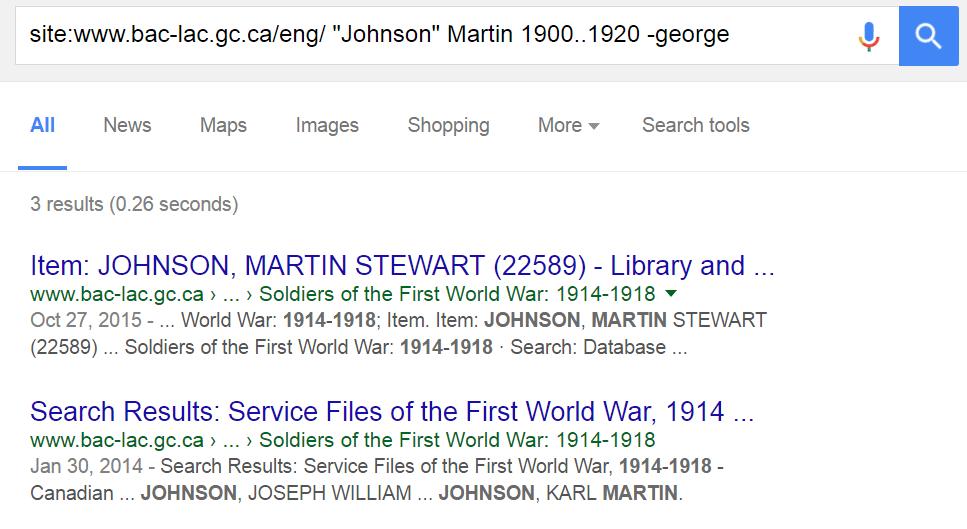 Site Search Advanced