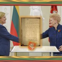 Declaration of Independence To Return To Lithuania For Centennial