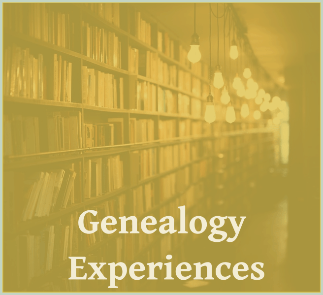Genealogy Gift Experiences