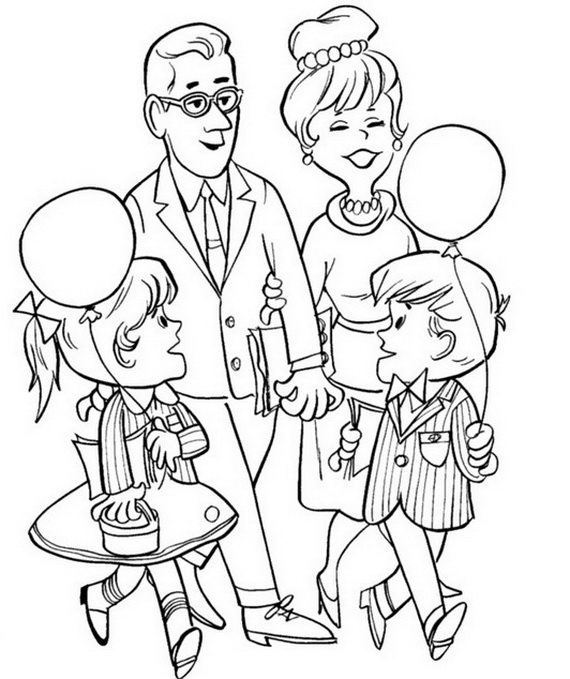Grandparents Day Coloring Pages & Activities for Kids